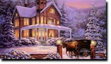 Vintage Winter Home