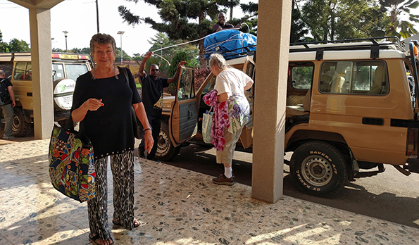 Sylvia Returns From Trip To Uganda