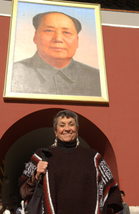 Sylvia in China