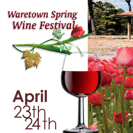 Waretown Spring Wine Festival Announces  Participating Wineries for 2016
